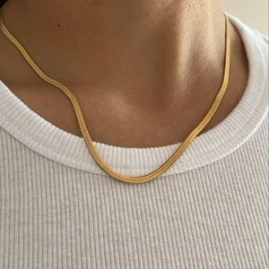 Jewelry - Gold snake chain